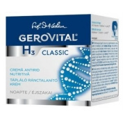GEROVITAL H3 CLASSIC Nourishing Anti-Wrinkle Night Cream (With Hyaluronic Acid) 45+