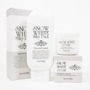 [Secret Key] Snow White Milky Pack 200g + Snow White Cream 50g Lightening