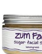 Indigo Wild Zum Face Facial Sugar Scrub Lemongrass