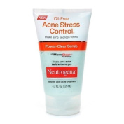 Neutrogena Oil-Free Acne Stress Control, Power-Clear Scrub 4.2 fl oz