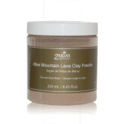 Atlas Mountain Lava Clay Mask - Organic Natural Facial Mask and Skin Care Treatment for Men, Women and Teens - Restore your skin's natural radiance with this traditional moisturising and Deep Cleansing treatment - Anti-ageing Mud Mask Heals Dry & Oily  ..