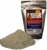 Best Indian Healing Clay - Sodium Bentonite - Facial Clay Mask & Bath Clay Detox + Bentonite Clay + Masks + Baths + Foot Baths + Wraps + Research Show It Is Stronger (with more ionic draw) than Calcium Bentonite Clay! Clay Was Used By Native American & ..