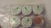 Eminence Naseberry Eye Exfoliant Sample Set of Six Travel Size 100% Fresh Organic