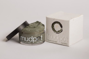 Mudpot Natural Mud Mask - 120ml - 100% organic, mineral-rich illite clay hand harvested from naturally occurring bubbling mud pots on the Black Rock Desert. -- Made in the USA --