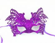 Bling Sparkle Mardi Gras Masquerade Half Mask Adjustable
