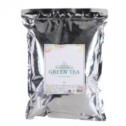 2500ml Modelling Mask Powder Pack Green Tea for Soothing and Anti Oxidation