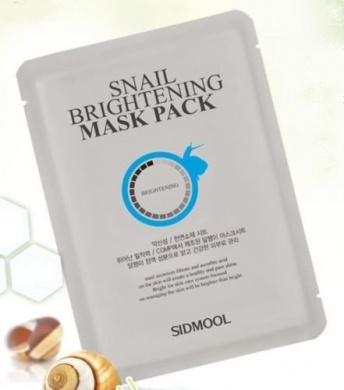 [Sidmool] Snail Brightening Mask Pack 20g Whitening