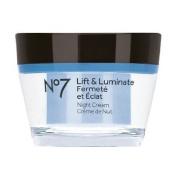 Boots No7 Lift & Luminate Night Cream 1.6 fl oz