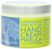 Planet Botanicals Ugandan Shea Butter Hand Cream, Marula with Cape Rose, 120ml