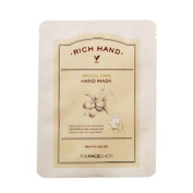 The face shop Rich Hand V Special Care Hand Mask (5 Sheet) [Korean Import]