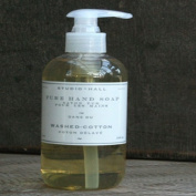 STUDIO~HALL k hall designs WASHED COTTON Pure Hand Soap 8oz/236 ml