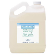 Boardwalk Antibacterial Liquid Soap, Floral Balsam, 3.8lBottle - four bottles.