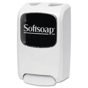 ** Foaming Hand Soap Dispenser, Beige/Smoke, 1250 mL, 6.7w x 4.2d x 11.1h