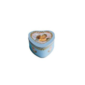 Heart Soap in Tin Box with Two Angels
