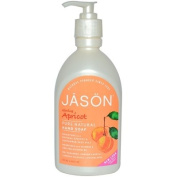 Jason Pure Natural Hand Soap Glowing Apricot - 470ml