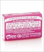 Organic Rose Bar Soap-140 g Brand
