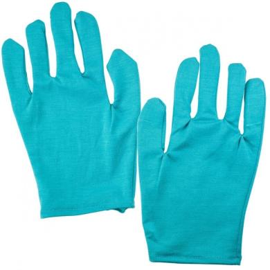 Just Because 9886 Moisturising Gloves Pair (Teal)