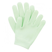 Accessories By Upper Canada 766602 Moisture Gel Spa Gloves, Green