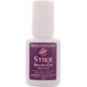 Backscratchers Extreme Glass Glaze Stikr Brush-On, 0.28 Fluid Ounce