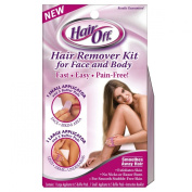 Hair Off Hair Remover Kit for Face and Body, 1 small and 1 Large Applicator 1 kit