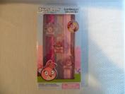 The Angry Birds Girls Slap Bracelet and Lip Gloss 5 Piece Set