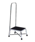 DSS Bariatric Step Stool with Handrail