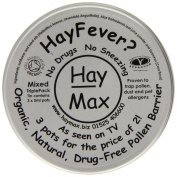 HayMax 15ml Organic Pollen Barrier Balm Triple Pack