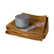Copper Peptide Face Cream + 2 Premium Microfiber Cleansing Cloths - Total Skincare System - Cleanse, Moisturise & Repair - Anti-ageing, Anti-wrinkle
