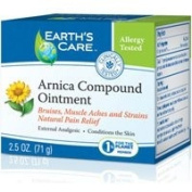 Earth's Care Arnica Compound Ointment 100% Natural, 70ml