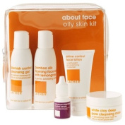 LATHER about face oily skin kit