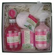 Medium Square Gift Box - Wild Rose & Sandalwood