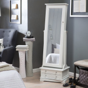 Belham Living Swivel Cheval Jewellery Armoire