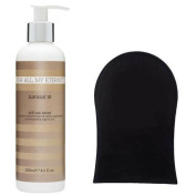 For All My Eternity Natural 10 Self Tan Lotion 250ml False Tanning Cream + LOTION MITT APPLICATOR - Made with Natural and Organic Ingredients for the most Natural Sunless Tan. Best-selling UK Luxury Natural Beauty Brand now available in the USA