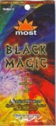 Lot of 5 Black Magic Bronzer Tanning Lotion Packets