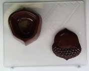 Large acorn lid and pour box AO125 All Occasion Chocolate Candy Mould