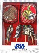 Star Wars Rebel Alliance Cupcake Decorating Kit