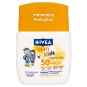 Nivea Sun Kids Pocket Size Sun Lotion Spf50 50 Ml