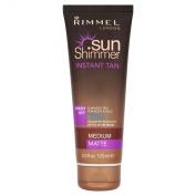Rimmel Sunshimmer Water Resistant Instant Tan 24hr - Medium Matte 125ml