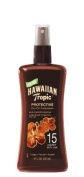 HAWAIIAN Tropic Tanning Oil Pump Spray SPF 15, 8 Fluid Ounce
