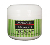 Mary Ann's Naturals Organic Handcrafted Peppermint Foot Cream