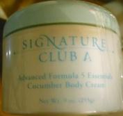 Signature Club A Advanced Formula 5 Essentials Cucumber Body Cream HUGE ~ 270ml