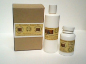 Cellulite Reduction Support Kit. Supports Cellulite Removal Inside & Out. 120ml Supplement Powder & 10 Oz Oil.