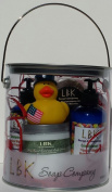 DUCKIES 4TH OF JULY CLEAN AND FRESH FREEDOM GIFT CAN