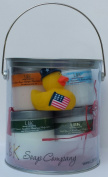 DUCKIES 4TH OF JULY LOTIONS BOUQUETS FREEDOM GIFT CAN