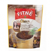 Fitne Choco Instant Cocoa Mix with Fibre 150g. X3pack thailand