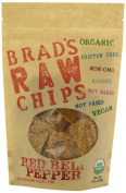 90ml Red Bell Pepper Flavour - Famous Brads Raw Chips - Vegan, Gluten Free, Natural, Healthy Snack