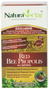 NaturaNectar Propolis Capsules, Red Bee, 60 Count