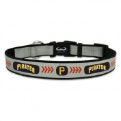 MLB Pittsburg Pirates Baseball Pet Collar, Reflective