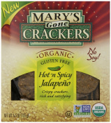 Mary's Gone Crackers Organic Hot N Spicy Jalapeno, 160ml