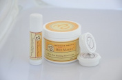 Sweet Bee Magic & Lip Balm, Organic Skincare Set